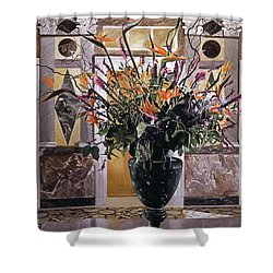 Birds Of Paradise Getty Museum Shower Curtain