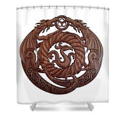 Birth Of The Phoenix Shower Curtain