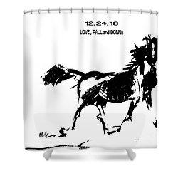 Birthday Image Shower Curtain