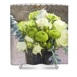 Shower Curtain featuring the photograph Birthday Wishes by Joan Bertucci