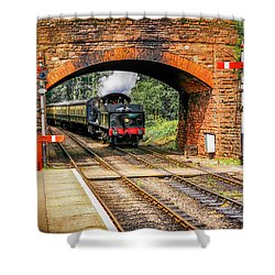 Bishops Lydeard Station, Uk Shower Curtain