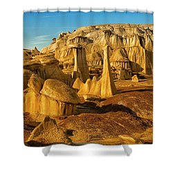 Bisti Badlands Fantasy Shower Curtain