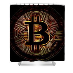Bitcoin Shower Curtain
