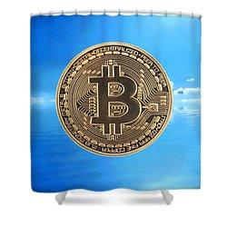 Bitcoin Revolution Shower Curtain