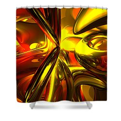 Bittersweet Abstract Shower Curtain by Alexander Butler