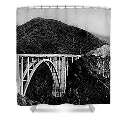 Bixby Bridge - Big Sur - California Shower Curtain