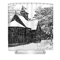 Boynton Chapel Shower Curtain