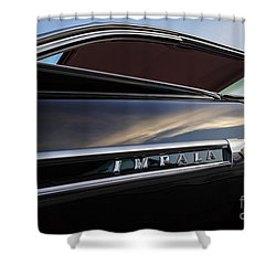 Black '59 Impala Shower Curtain