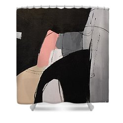 Black And White 2 Shower Curtain
