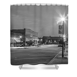 Black And White 31 Shower Curtain