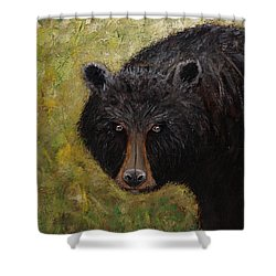 Black Bear Of The Blue Ridge Mountains Shower Curtain