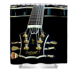 Shower Curtain featuring the photograph Black Beauty by Bill Gallagher