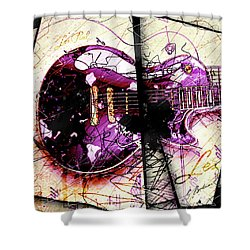 Black Beauty C 2  Shower Curtain by Gary Bodnar