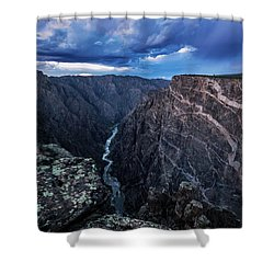 Black Canyon Of The Gunnison National Park Shower Curtain