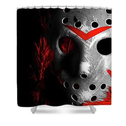 Black Friday The 13th  Shower Curtain by Jorgo Photography - Wall Art Gallery