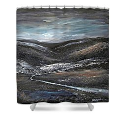 Black Hills Shower Curtain