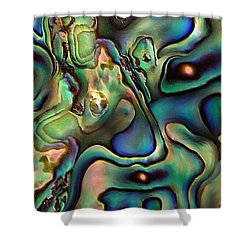 Black Holes By Rafi Talby  Shower Curtain by Rafi Talby
