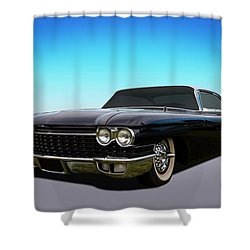 Shower Curtain featuring the photograph Black by Keith Hawley