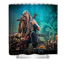 Black Label Society Shower Curtain