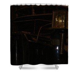 Black Mariah Waits Shower Curtain