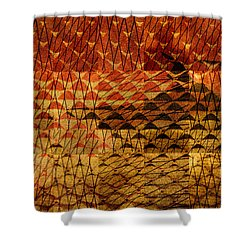 Black Mountain Shower Curtain