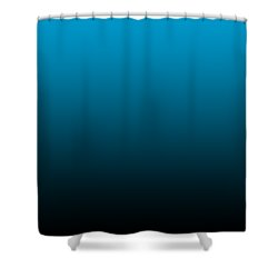 Black Ombre Shower Curtain