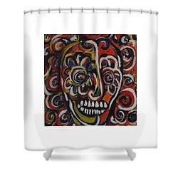 Black Orpheus Shower Curtain
