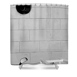 Shower Curtain featuring the photograph Black White Grey by Prakash Ghai