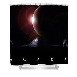 Blackbird Shower Curtain by Peter Chilelli