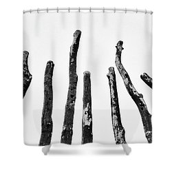 Blackened And Scorched  Shower Curtain