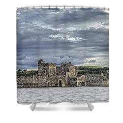 Blackness Castle Shower Curtain