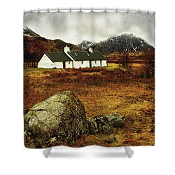 Blackrock Cottage Glencoe Shower Curtain