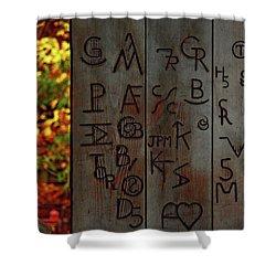Blacksmith Board Shower Curtain