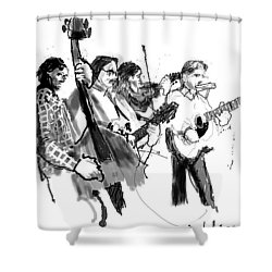 Blacksmith II Shower Curtain