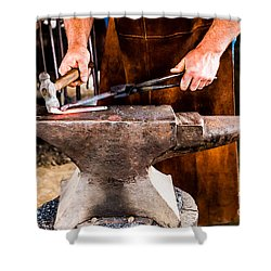 Blacksmith Shower Curtain