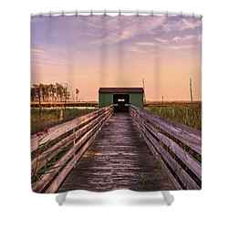 Blackwater Blind Shower Curtain