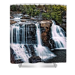 Blackwater Falls, West Virginia Shower Curtain by Skip Tribby