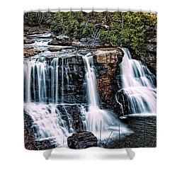 Blackwater Falls, West Virginia Shower Curtain
