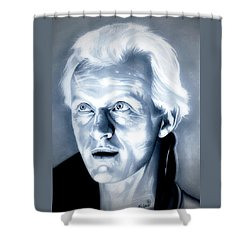 Blade Runner Roy Batty Shower Curtain by Fred Larucci
