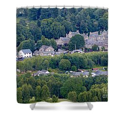 Shower Curtain featuring the photograph Blair Atholl - Perthshire by Phil Banks