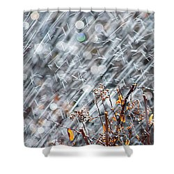 Blame It On The Rain Shower Curtain
