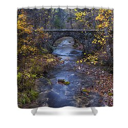 Blanchard Stone Bridge Shower Curtain