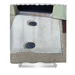 Blandscape Shower Curtain