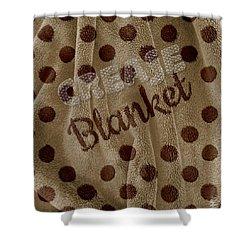 Blanket Shower Curtain by La Reve Design