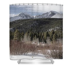 Blanket Of Snow Shower Curtain