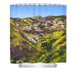 Blanketed In Flowers Shower Curtain