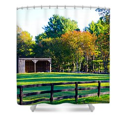 Blantyre Road Drive 5 Shower Curtain