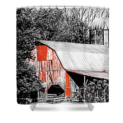 Blantyre Road Drive 6 Shower Curtain