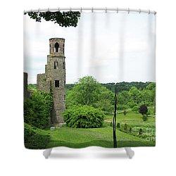 Blarney Castle Shower Curtain by Mini Arora