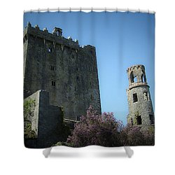 Blarney Castle And Tower County Cork Ireland Shower Curtain by Teresa Mucha